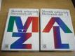 Slovník světových literárních děl 1. a 2. díl,