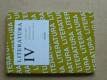 Literatura IV. - výbor textů, interpretace, literární teorie (2004)