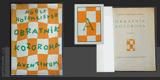 HOFFMEISTER; ADOLF: OBRATNÍK KOZOROHA. - 1926. Obálka a nakl. značka (dvoubarevné linoryty) JOSEF ČAPEK. /jc/ - 8406295561