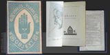 Čapek - VILDRAC; CHARLES: OBJEVY. - 1923. Obálka (lino); nakl. zn. v titulu (lino) JOSEF ČAPEK. /jc/ - 8406292681