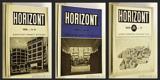 HORIZONT. 1928. 2. ročník - 1928. 2. ročník. 5 sešitů; komplet. /architektura/q/ - 8406078601