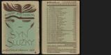 STRINDBERG; AUGUST: SYN SLUŽKY. - 1927. Aventinum. Obálka VLASTISLAV HOFMAN. - 8405470025