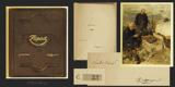 Kašpar - RAIS; KAREL VÁCLAV: ZÁPAD. - 1925. Pohorský obraz. Ilustrace ADOLF KAŠPAR. Podpis autora a ilustrátora. Celokožená vazba. - 8406016201
