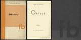 HOLAN; VLADIMÍR: OBLOUK. - 1934. 1. vyd.; obálka FRANTIŠEK MUZIKA. /T/poesie/ - 8405918345