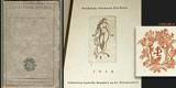 Brunner - Z GOETHOVA ODKAZU. - 1916. Bradáč; Vybrané knihy sv. 2. Lept na titulním listě V. H. BRUNNER. - 8405419017