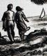 Bouda - LORIŠ; JAN: CYRIL BOUDA. - 1949. Barev. orig. litografie #39;Růže#39; a orig. dřevoryt #39;Olivy#39;; obě sign. - 8405081673