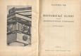 MÍK; FRANTIŠEK: HISTORICKÉ SLOHY - ARCHITEKTONICKÉ TVAROSLOVÍ. - 1933. /architektura/ - 8405441865