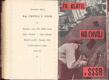 KLÁTIL; FRANTIŠEK: NA CHVÍLI V SSSR. - 1931. Reportáž. Nákladem Mladých proudů. Fotomontážní obálka VIKTOR NIKODÉM. - 8406060937