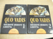 Quo Vadis, 1+2díl, 2 svazky