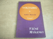 Nesmrtelné stránky z Voltaira, jak je vybral a vysvět