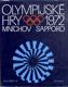 Olympijské hry Mnichov Sapporo 1972