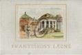 Františkovy lázně v kresbách Jana Spáčila