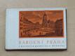 Barokní Praha v rytinách Bedřich B. Wernera (Odeon 1966)