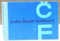 Česko - finské rozhovory