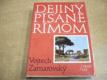 Dejiny písané Rímom slovensky