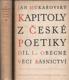 Kapitoly z české poetiky I. - II.
