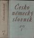 Česko-německý slovník I. - II.