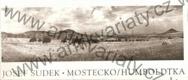 Sudek Mostecko/Humboldtka (černobílé fotografie krajiny mostecka - 11 ks)