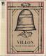 Villon - Malý testament