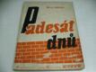Padesát dnů , knihovna Květů ročník 1951, s