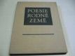 Poesie rodné země. verše českých básníků