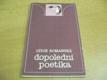 Dopolední poetika. sbírka básní