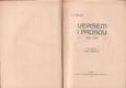 Veršem i prosou 1904-1907 od Josef Svatopluk Machar