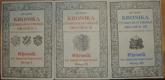 Kronika česko-bavorské hranice I.-III. - Chronik der böhmisch-bayerischen Grenze I.-III.