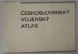 Československý vojenský atlas - mapa