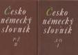 Česko německý slovník A-O; P-Ž