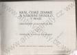 Král. české zemské a Národní divadlo v Praze (Obrazový almanach)