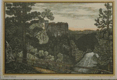 hrad Orlík - rytina