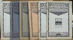 Wiener Mitteilungen (Photographischen Inhalts), neúplný XXII.  ročník (1918)