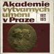 Akademie výtvarných umění v Praze 1972 - 1973