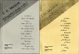 T. G. Masaryk - Bibliografie k životu a dílu I. - II.