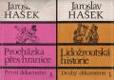 Procházka přes hranice; Lidožroutská historie - Idylky z cest a jiné humoresky; Parodie, morytáty a banality
