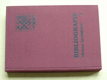 Bibliografie okresu Olomouc 1 (1997)