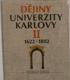 Dějiny Univerzity Karlovy 2