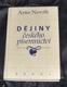 Dějiny českého písemnictví Arne Novák