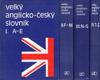 Velký anglicko-český slovník I. - II. - III.- IV.