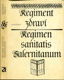 Regiment zdraví. Regimen sanitatis salernitanum