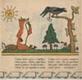 Liška a vrána na stromě