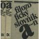 Filozofický slovník A-Z  I.+II.