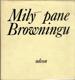 Milý pane Browningu - Paměti, korespondence, dokumenty