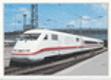 Elektrická jednotka DB 401 s nejvyšší dovolenou rychlostí 270km/h