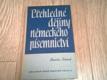 Přehledné dějiny německého písemnictví