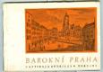Barokní Praha v rytinách B. B. Wernera