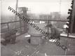 Chladící věže rafinerie. Industriální fotografie