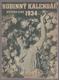 Rodinný kalendář nového lidu na rok 1934.