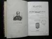Slavín : (Pantheon) : Sbírka podobizen, autografů, a životopisů předních mužů československých